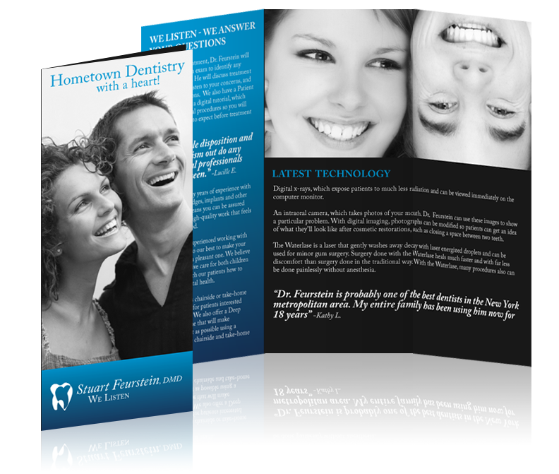 Brochure Design for Dr. Stuart Fuerstein