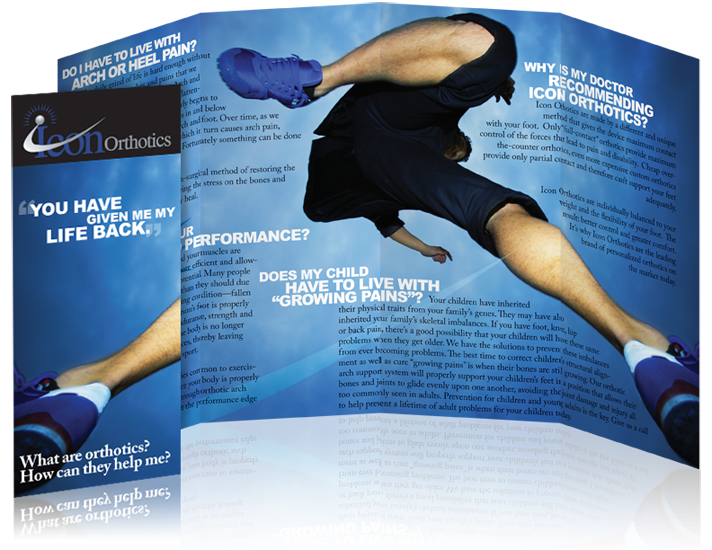 Gate Fold Brochure for Icon Orthotics