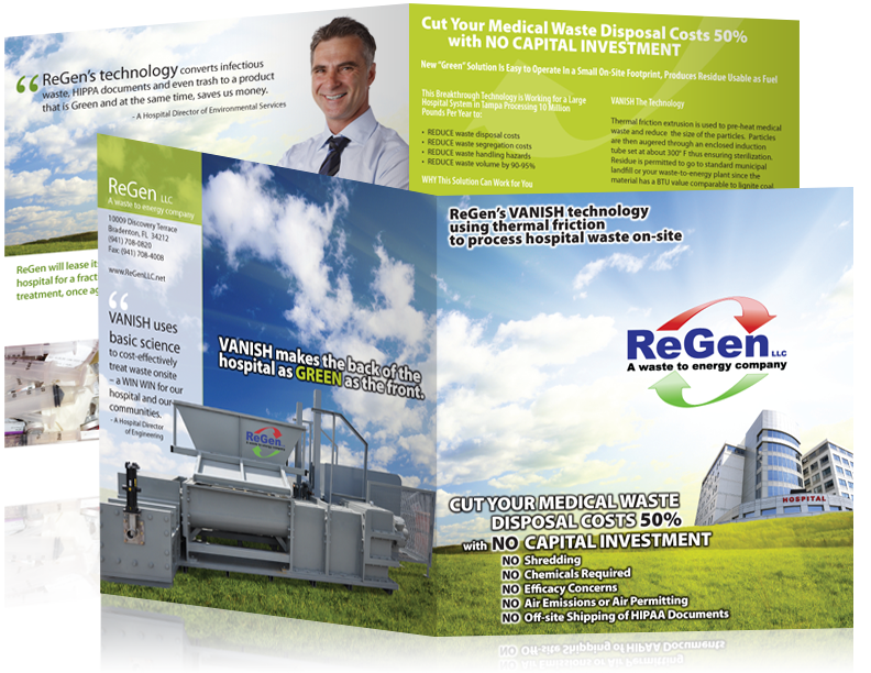 Brochure design for Regen