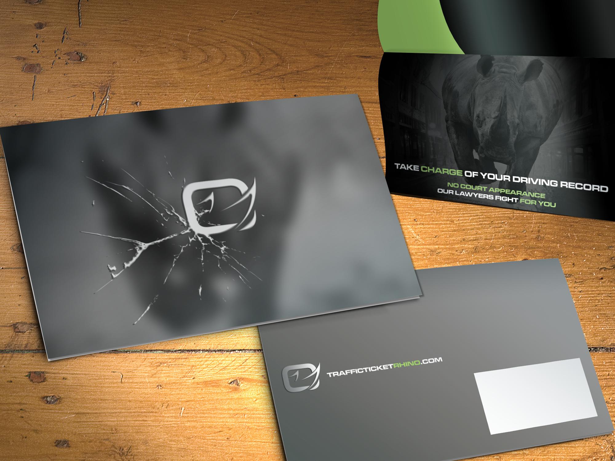 Rhino print design