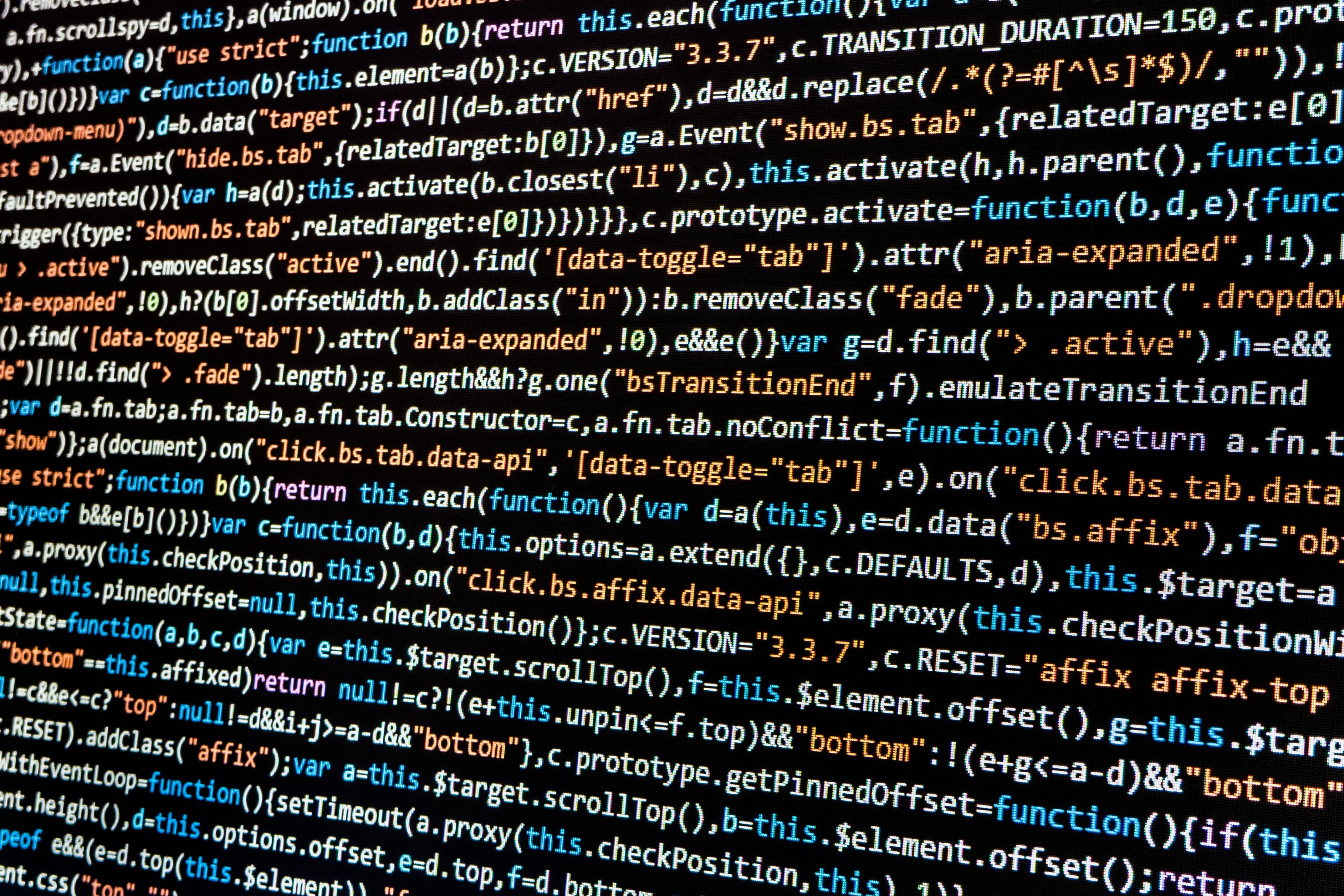 custom website design code